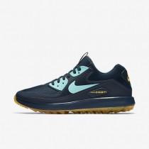 Zapatillas de golf Nike Air Zoom 90 IT Hombre 844569-400 Armadura Azul marino / Laser Naranja / Ligero Aqua