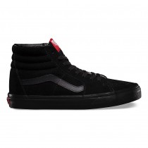 Zapatillas Mujer Vans Sk8-Hi Negro / Rojo