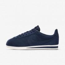 Zapatillas Nike Classic Cortez SE Hombre 902801-400 Midnight Azul marino / Summit Blancas / Midnight Azul marino