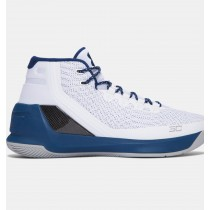 Zapatillas de baloncesto Under Armour Curry Three Hombre Blancas / Azul (105)