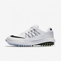 Zapatillas de golf Nike Lunar Control Vapor Mujer 849979-100 Blancas / Volt / Negro