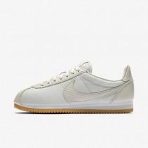 Zapatillas Nike Cortez SE Mujer 902856-002 Hueso Ligero / Blancas / Gum Amarillo / Hueso Ligero