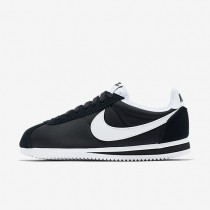 Zapatillas Nike Classic Cortez 15 Nylon Mujer 749864-011 Negro / Blancas