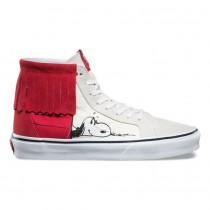 Vans X Peanuts Sk8-Hi Moc Zapatos Mujer Snoopy / Bone-Parade Rojo