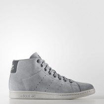 Mujer / Hombre Adidas Originals Stan Smith Zapatos Intermedios Gris Three / Gris Three / Gris Five BZ0651