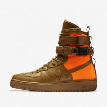 Nike Special Field Air Force 1 QS Hombre Zapato 903270-778 Desert Ocher / Total Naranja / Desert Ocher
