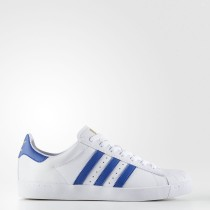 Adidas Originals Superstar Vulc ADV Zapatos Hombre Calzado Blancas / Collegiate Royal / Oro Metalic BY3944