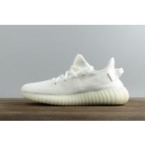"""Adidas Yeezy Boost 350 V2 Mujer Hombre """"Triple Blancas"""" Crema Blancas CP9366"""