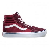 Vans Throwback SK8-Hi Reissue Lite Zapatos Mujer Port Royale / Tibetan Rojo