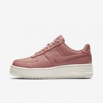 Zapatillas Mujer Nike Air Force 1 Upstep 917588-600 Rojo Stardust / Siltstone Rojo / Vela / Rojo Stardust