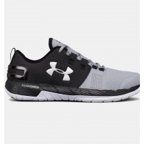 Hombre Under Armour Commit Training Zapatillas Negro / Gris (005)