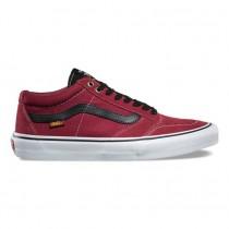 Vans TNT SG Zapatos Hombre Tibetan Rojo