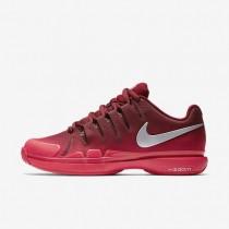 Zapatillas Mujer NikeCourt Zoom Vapor 9.5 Tour 631475-602 Equipo Rojo / Siren Rojo / Metallic Plata