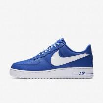 Zapatillas Hombre Nike Air Force 1 Low 07 NBA 823511-405 Juego Royal / Blancas