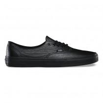 Vans Premium Leather Auténtico Decon Zapatos Hombre Negro