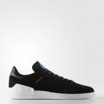 Hombre Adidas Originals Busenitz RX Zapatos Core Negro / Calzado Blancas / Azulbird BY4098