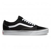 Vans Suede Old Skool Lite Zapatos Mujer Negro / Blancas