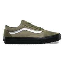 Vans Surplus Camo Old Skool DX Zapatos Hombre Winter Moss / Negro