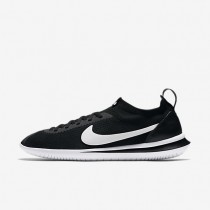 Hombre Nike Cortez Flyknit zapatos AA2029-001 Negro / Blancas
