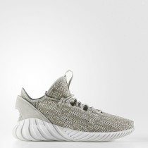 Adidas Originals Tubular Doom Sock Primeknit Zapatos Hombre Sésamo / Sésamo / Cristal Blancas BY3561