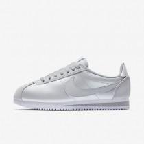Zapatillas Nike Classic Cortez Mujer 807471-015 Pure Platinum / Blancas / Pure Platinum