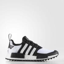 Mujer Hombre Adidas Originals Blancas Montañismo NMD_R1 Trail Primeknit Zapatos Core Negro / Calzado Blancas CG3646