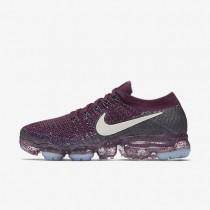 Zapatillas de running NikeLab Air VaporMax Flyknit Mujer 899472-602 Bordeaux / Colegio Azul marino / Noche Púrpura / Desert Sand