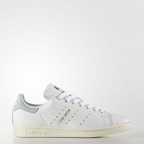 Mujer Adidas Originals Stan Smith Calzado Calzado Blancas / Calzado Blancas / Tactile Verde