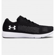 Hombre Under Armour Rapid Running Zapatillas Negro / Blancas (001)