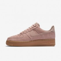 Zapatillas Mujer Nike Air Force 1 '07 SE AA0287-600 Partículas Fucsia / Gum Medium Marrón / Ivory / Partículas Fucsia