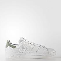 Mujer Adidas Originals Stan Smith Calzado Calzado Blancas / Calzado Blancas / Trace Verde