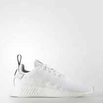 Mujer Hombre Adidas Originals NMD_R2 Zapatos Crystal Blancas / Crystal Blancas / Core Negro BY9914