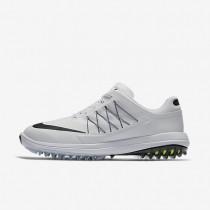 Zapatillas de golf Nike Lunar Control Vapor Hombre 849971-100 Blancas / Volt / Negro