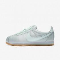 Zapatillas Nike Classic Cortez QS Mujer 920440-300 Fibra de vidrio / Blancas / Gum Amarillo / Fibra de vidrio