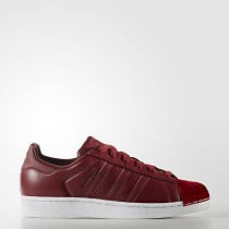 Zapatillas Mujer Adidas Originals Superstar 80s Collegiate Borgoña / Collegiate Borgoña / Calzado Blancas BZ0644