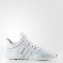 Hombre Adidas Originals EQT Support ADV Parley Zapatos Ftwr Blancas / Azul Spirit S11 / Off Blancas AC7804