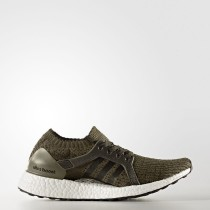 Running Adidas UltraBOOST X Zapatos Mujer Trace Olive / Night Cargo / Tech Rust Metalic CG2976