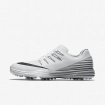 Zapatillas de golf Nike Lunar Control 4 Mujer 819034-101 Blancas / Wolf Gris / Negro