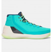 Zapatos de baloncesto Under Armour Curry Three Hombre Verde (370)
