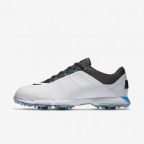 Zapatillas de golf Nike Lunar Fire Hombre 853738-100 Blancas / Foto Azul / Antracita