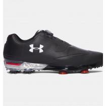 Consejos Hombre Under Armour Tour Zapatos Golf BOA ™ Negro (001)