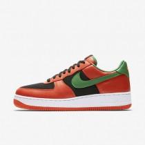 Zapatillas Nike Air Force 1 Low Retro Hombre 845053-800 Naranja Flash / Negro / True Blancas / Classic Verde