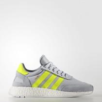 Adidas Originals Iniki Runner Zapatos Mujer Clear Onix / Solar Amarillo / Calzado Blancas BB0001