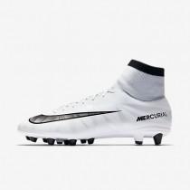 Nike Mercurial Victory VI Dynamic Fit Bota de fútbol de hierba artificial CR7 AG-PRO Hombre / Mujer 903602-401 Azul Tint / Blancas / Azul Tint / Negro