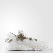 Hombre Baloncesto Adidas CrazyLigero Boost Zapatos bajos Calzado Blancas / Trace Cargo / Off Blancas CQ1198