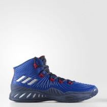 Hombre Baloncesto Adidas Crazy Explosive Zapatillas Collegiate Royal / Plata Metalic / Collegiate Azul marino BY4455