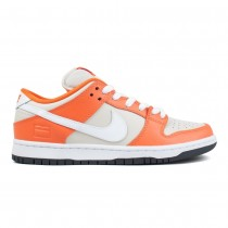 Nike SB Dunk Low Premium 'Naranja Box' Hombre (Safety Naranja / Blancas-Cream)