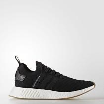 Adidas Originals NMD_R2 Primeknit Zapatos Hombre Core Negro BY9696