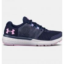 Zapatillas de running Mujer Under Armour Micro G® Azul marino / Fucsia (411)