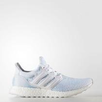 Mujer / Hombre Running Zapatillas Adidas Ultraboost Parley Calzado Blancas / Calzado Blancas / Icey Azul CP9685